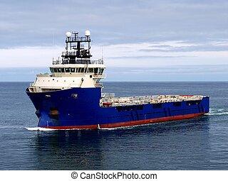 beszerzés, part felől, hajó, j