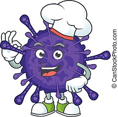 betű, karikatúra, kalap, séf, film, fehér, fárasztó, coronavirinae