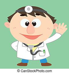 betű, orvos