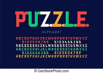 betűtípus, rejtvény