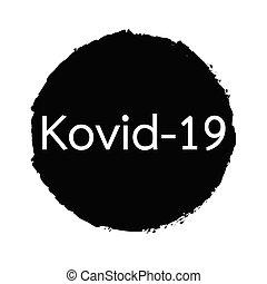 betegség, covid-19, nevezett, aláír, coronavirus