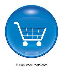 bevásárlás, ikon