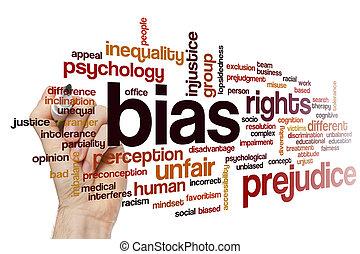 bias, szó, felhő