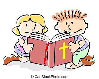 biblia, gyerekek