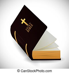 biblia, jámbor, design.