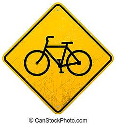 bicikli, aláír