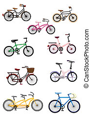 bicikli, karikatúra