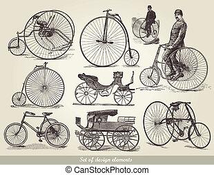 bicycles, állhatatos, öreg