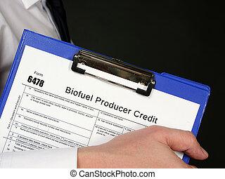 biofuel, forma, hitel, termelő, 6478