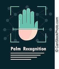 biometric, pálma, elismerés