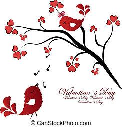 birdies, enamoured, elágazik