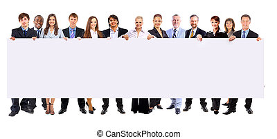 birtok, emberek, transzparens, ügy, háttér, hosszúság, elszigetelt, tele, evez, sok, tiszta, fehér