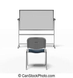 bizottság, fehér, szék