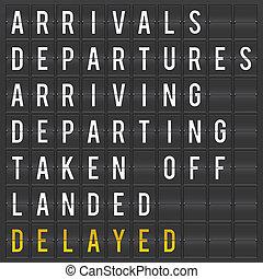bizottság, repülőtér, indulás