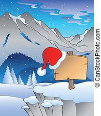 bizottság, tél parkosít, karácsony