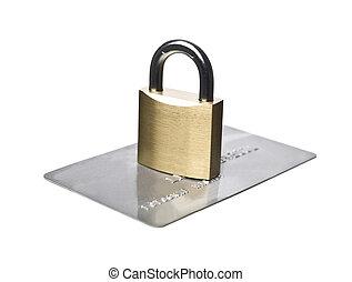 biztonság, creditcard