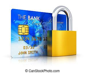 biztonság, fogalom, bankügylet