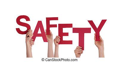 biztonság, hatalom kezezés