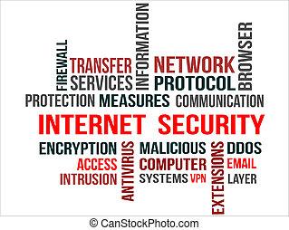 biztonság, internet