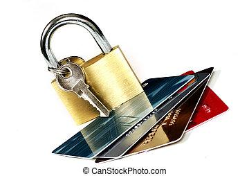 biztonság, kártya