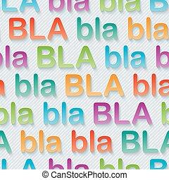 bla-bla-bla, walpaper.
