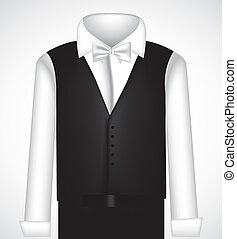 black öltöny