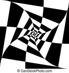 black-and-white, elvont, háttér