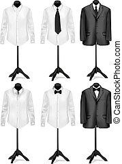 black ing, illeszt, fehér
