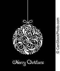 black labda, white christmas, háttér.