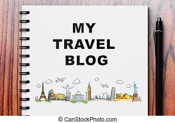 blog, utazás, az enyém