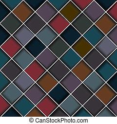 blokkok, szerkezet, többszínű