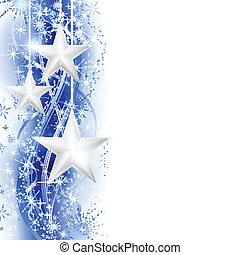 blue csillag, határ, ezüst