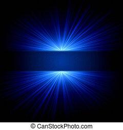 blue csillogó, ékezetez