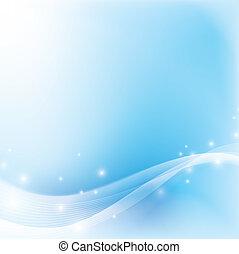 blue csillogó, elvont, lágy, háttér