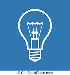 blue csillogó, háttér., vektor, gumó, ikon