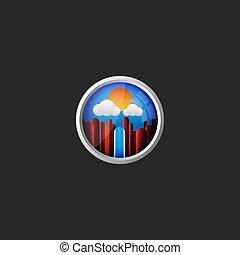 blue hegy, kerek, elhomályosul, gradiens, keret, ügynökség, ég, vízesés, eredeti, ablak, repülőgép, háttér, jel, kilátás, utazás, táj, 3