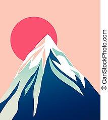 blue hegy, peak., sun., havas
