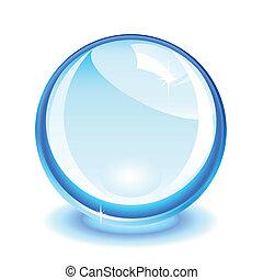 blue kristály, labda