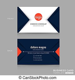 blue triangulum, ügy, absztrahál modern tervezés, haditengerészet, kártya
