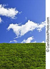 blue zöld, ég terep