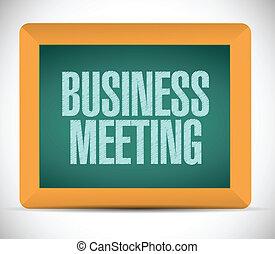board., gyűlés, ügy cégtábla
