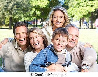 boldog, liget, család