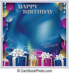 boldog születésnapot, meghívás