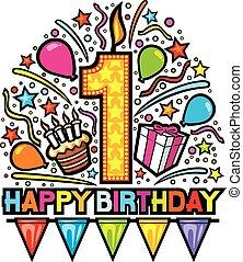 boldog születésnapot, tervezés, először