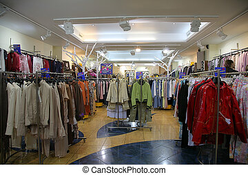 bolt, felső, osztály, öltözék