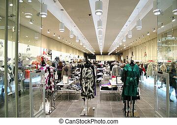 bolt, női, öltözék