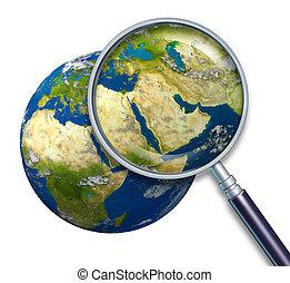 bolygó földdel feltölt, kelet, krízis, középső