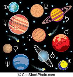 bolygók, naprendszer