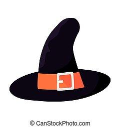 boszorkány, white kalap, háttér