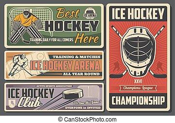 bot, korong, jégkorong, bajnokság, jég, játékos